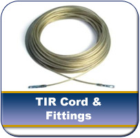 TIR Cords and Fittings from Cargo Defenders
