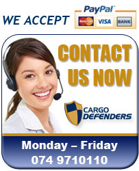 Get in touch with us at Cargo Defenders today to discuss our products.