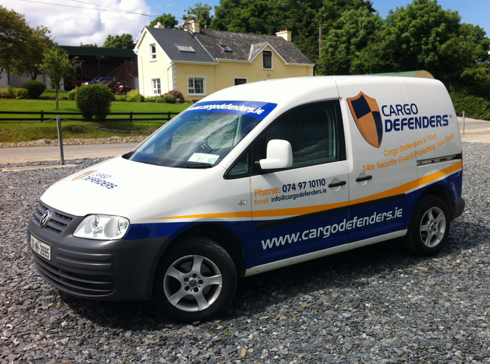 A big thank you to CBM Signs in Letterkenny for their great Dragon Factor business signage prize to Cargo Defenders.