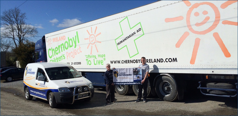 Kilkenny Chernobyl Children's Charity Truck on route to Belarus
