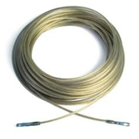 6mm PVC Coated Wire Complete with Terminals