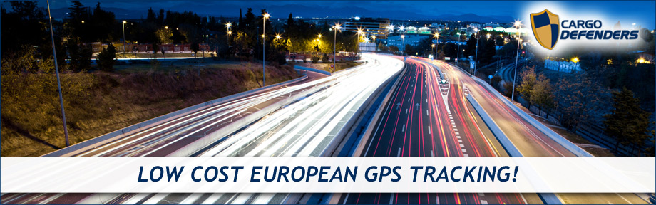 Low cost european GPS Tracking at Cargo Defenders