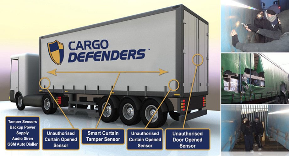 Cargo Defenders - The Newest Security System for Curtain Side Trailers